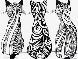 Black And White Drawings On Paper Henna Tattoo