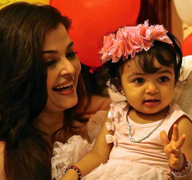 Aishwarya Rai Baby Aaradhya photos