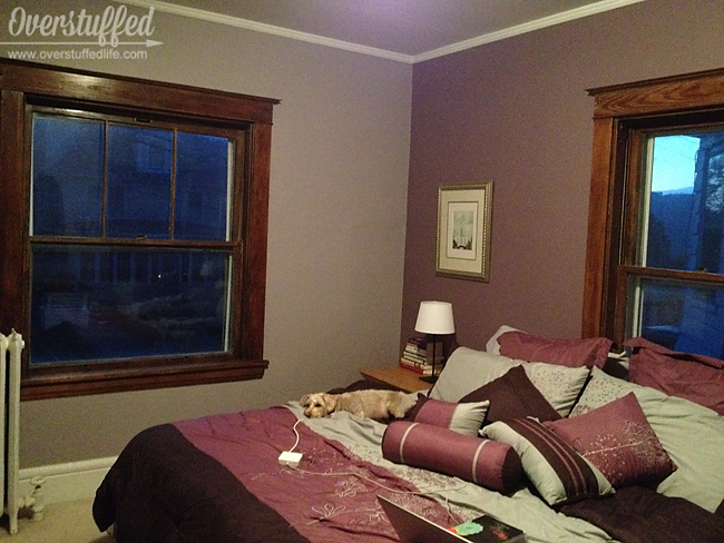 Repainted Bedroom Sherwin Williams Beguiling Mauve And Soulmate
