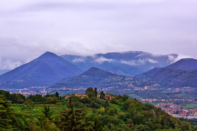 Image of the Italian Alps near Bergamo, Italy.