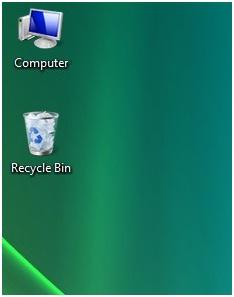 Menampilkan icon shortcut di di desktop (layar komputer)