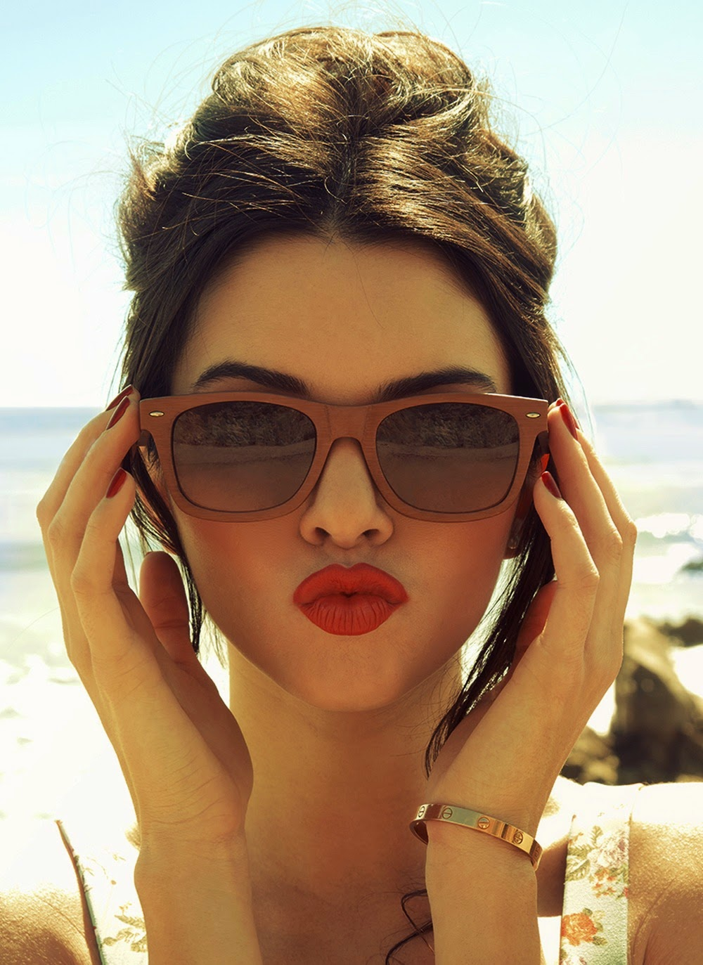 Eyeglass Frames For Triangular Face : How to Choose Sunglasses for Your Face Shape - What Lizzy ...