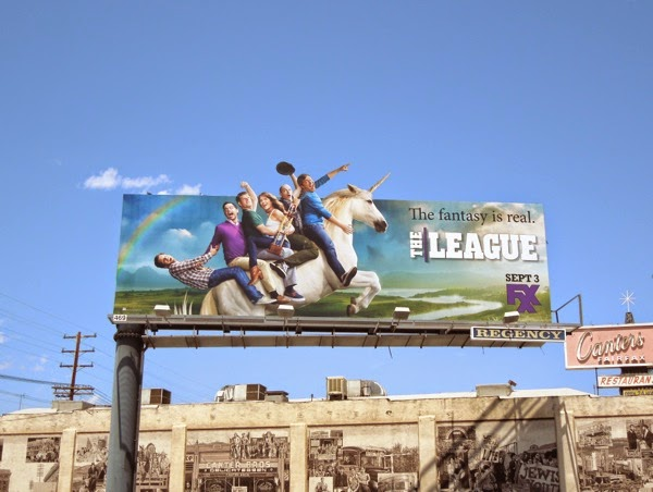League season 6 unicorn billboard