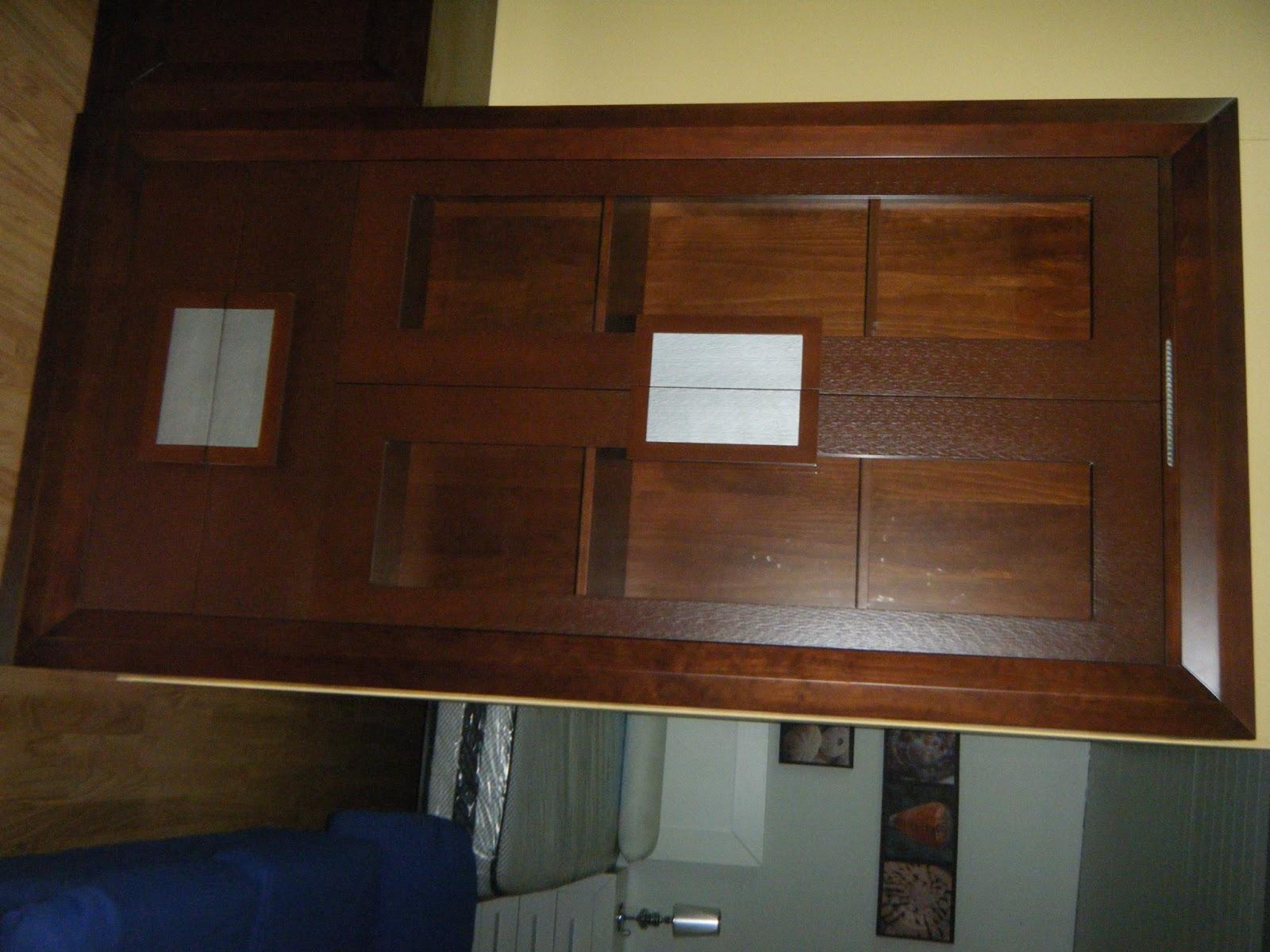 Muebles y carpinteria capita nuevo mueble en exposicion - Salones de madera maciza ...