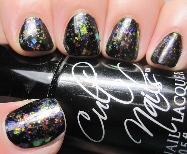 Cult Nails Nevermore and Finger Paints Twisted