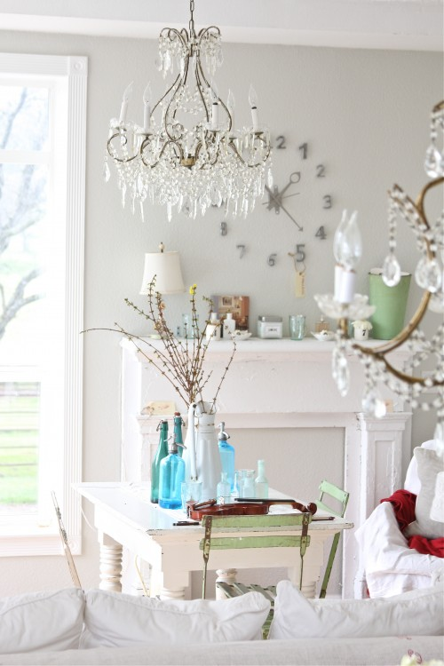 Mom's Turf: Shabby Chic Spaces