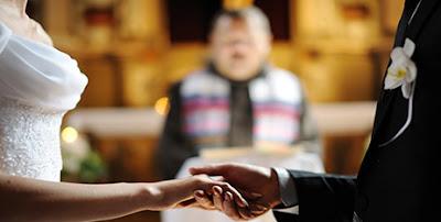 Boda Religiosa en Bolivia, novios multicenter