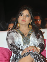 Madhavi Latha photos at Pooja audio launch-cover-photo