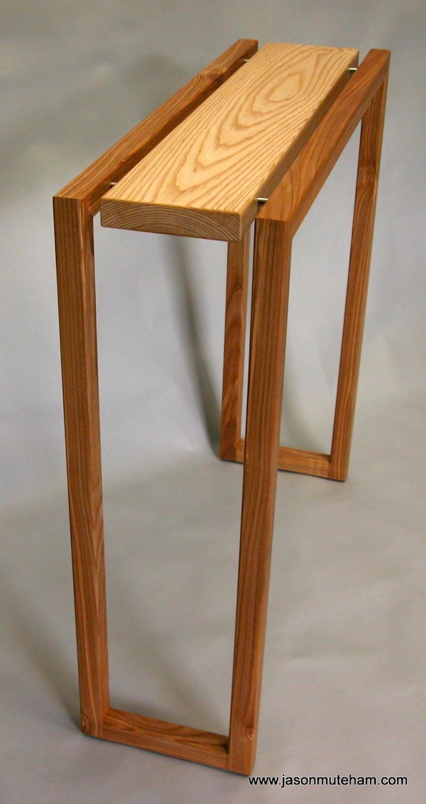Jason muteham furniture designer maker hall table design for Furniture design for hall