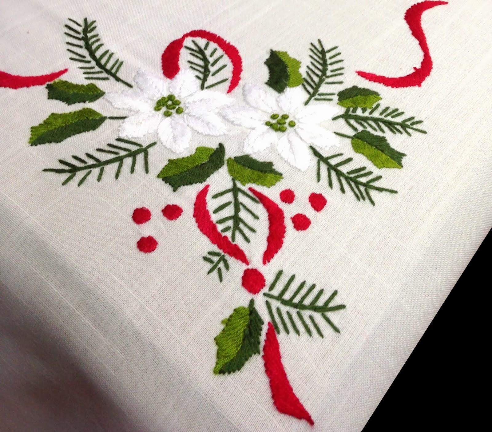 manteles de navidad bonitos y decorativos