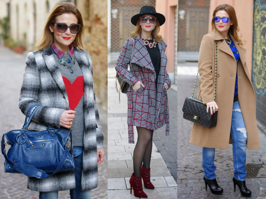 checked coat, cappotto a quadri, cappotto cammello, camel coat, smash coat, fashion blogger Fashion and Cookies, fashion blog