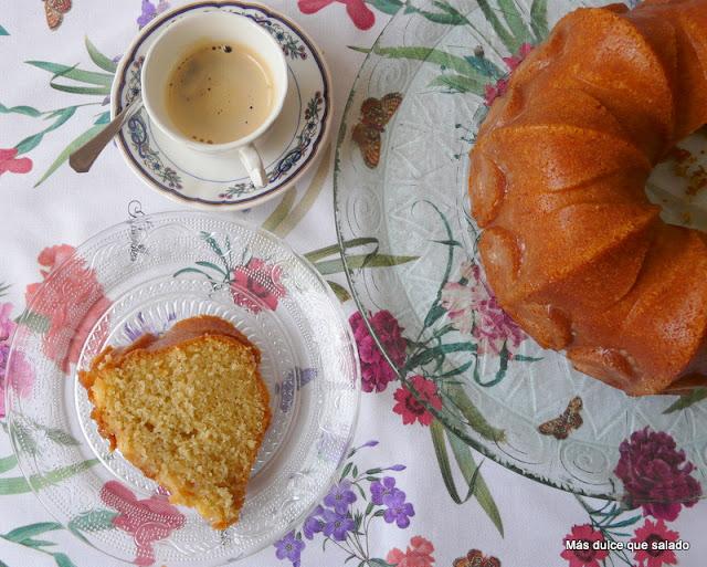 Bundt Cake de Leche de Coco: ¡¡¡¡Espectacular!!!! ¡¡¡ El Mejor Bizcocho del Mundo!!!!