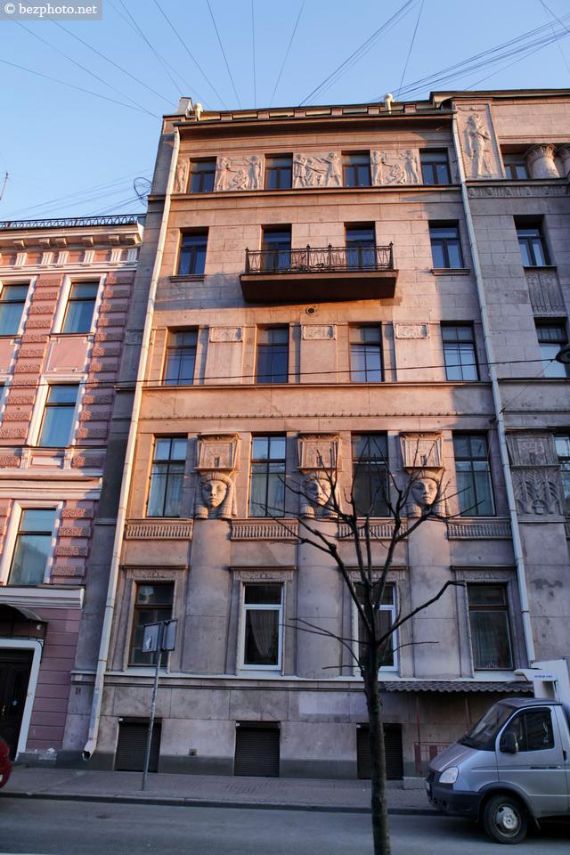 египетский дом в санкт петербурге