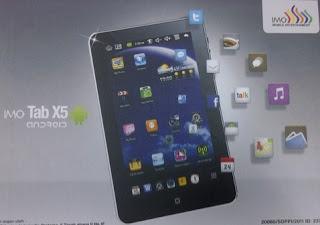 IMO tab X5-8