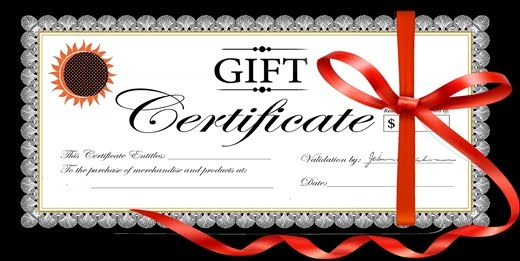White Horse Gift Certificates