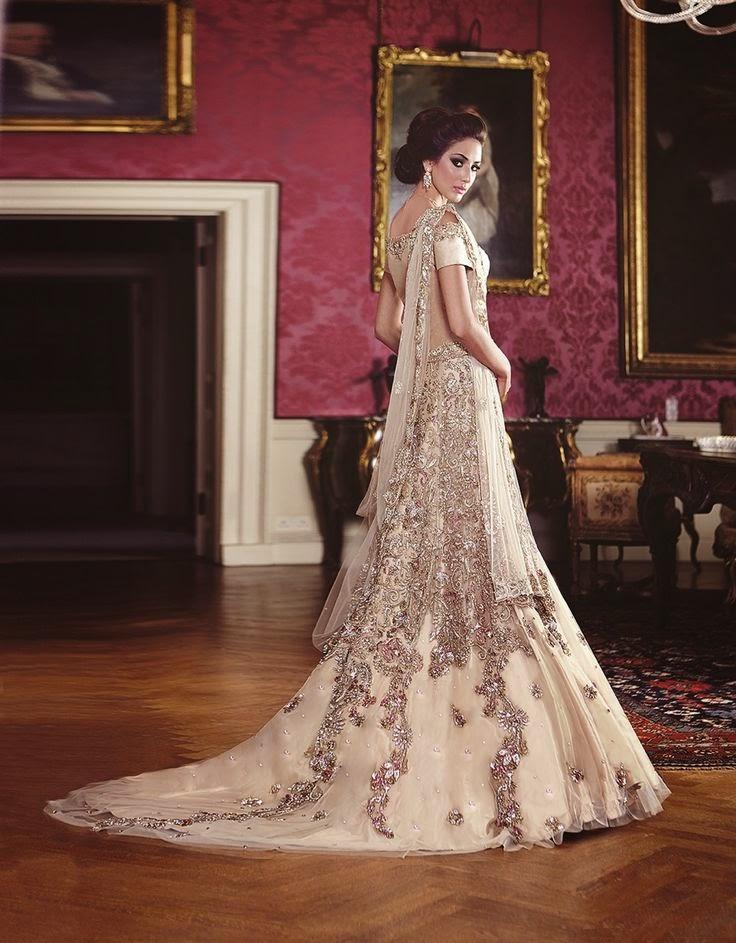 New Pakistani Bridal Dresses 2015 Pak Fashion