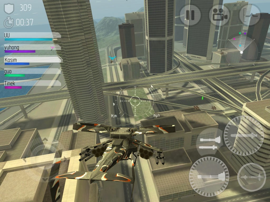 Download Game Android C.H.A.O.S Multiplayer Air War v6.1.7 + OBB