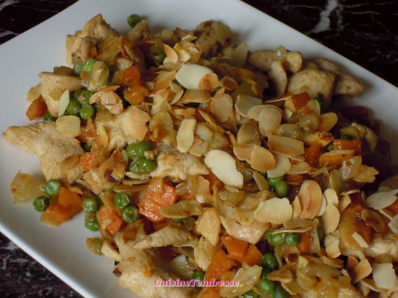 Poulet aux amandes chine blogs de cuisine - Blogs recettes de cuisine ...