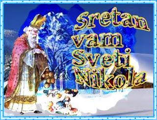 čestitka za blagdan sveti Nikola