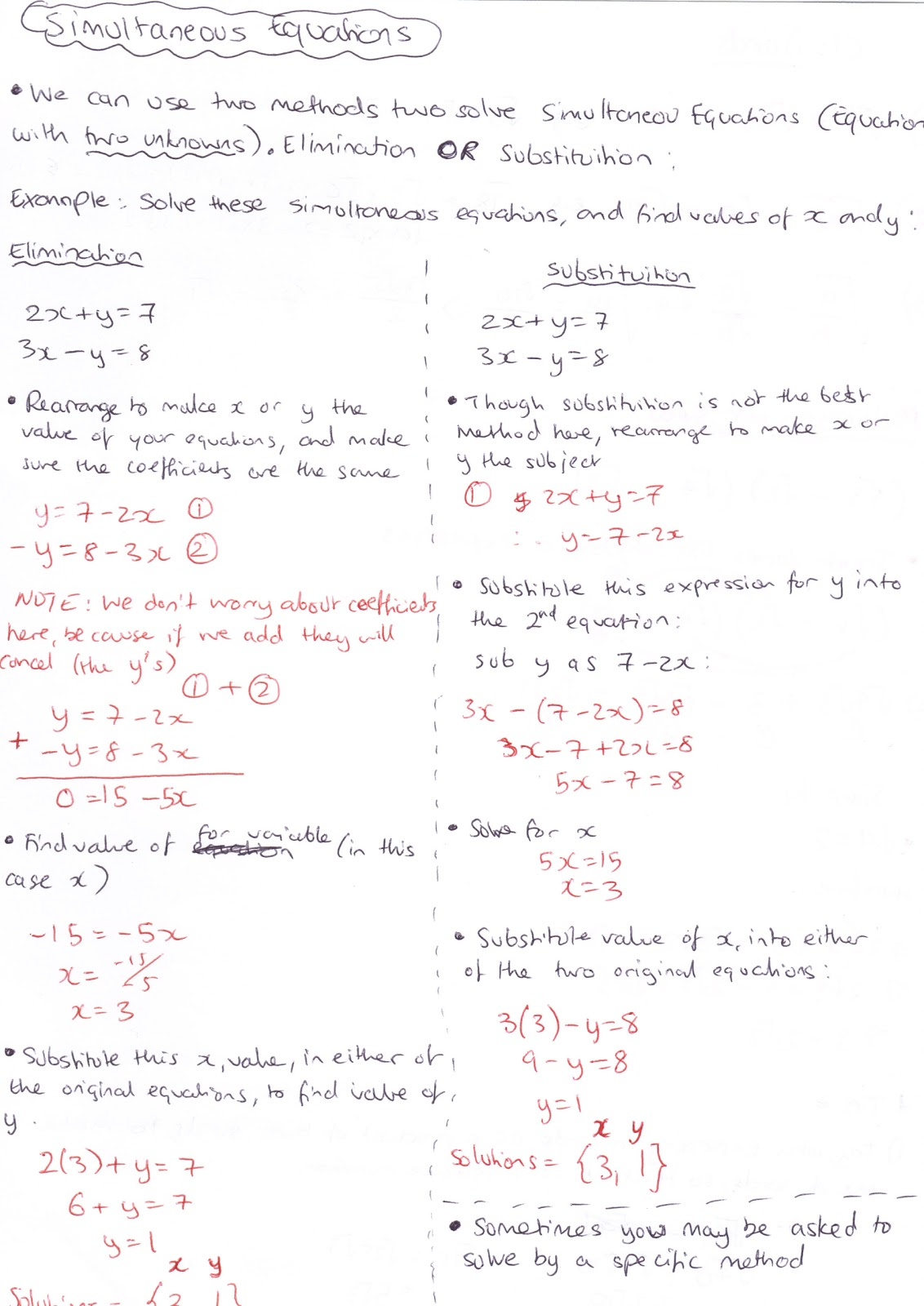 a level mathematics notes pdf