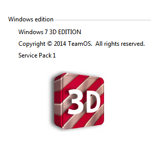 Windows 7 3D Edition 2014 x86 by White Death