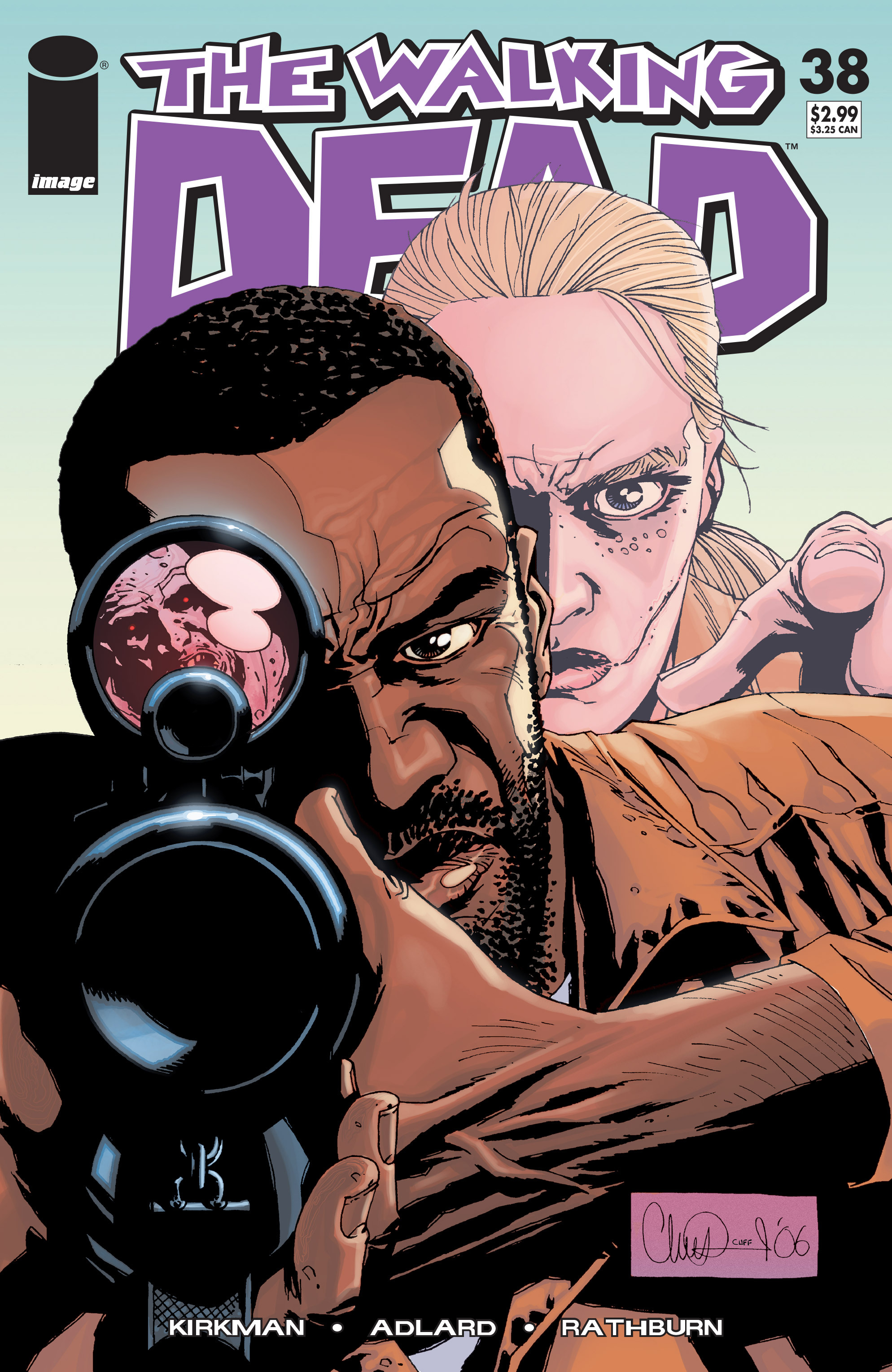 The Walking Dead Issue #38 Page 1