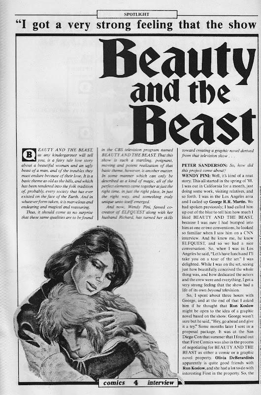 Starlogged Geek Media Again 1989 Beauty And The Beast