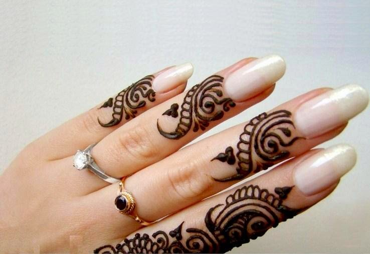 Mehndi Designs For Fingers A Women S Club : Bridal mehndi designs latest fancy fingers design