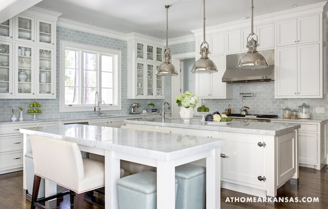 ... Another Kitchen More Beautiful Than The Last Beautiful Kitchen I Saw, I  Stumble Across Another Beautiful Kitchen. This One Had Me At The Blue  Waterworks ...