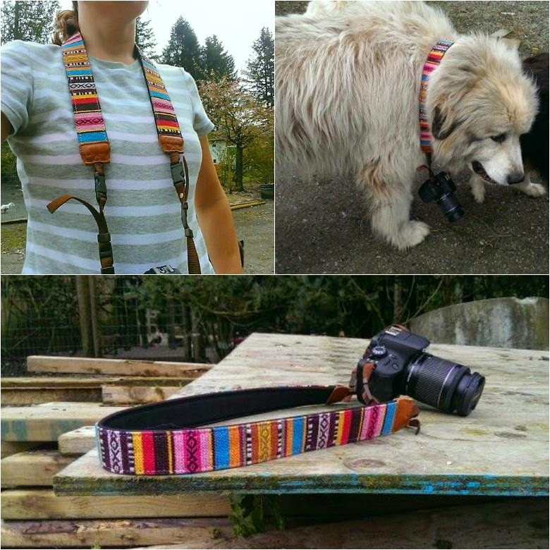 Camera strap from Photojojo