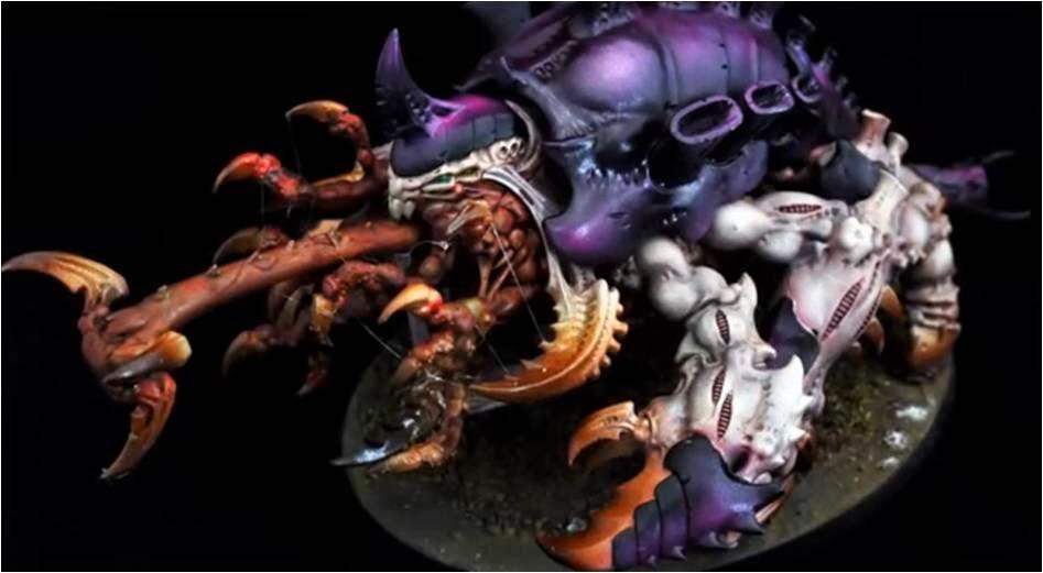 Cómo pintar un Harúspex de la Flota Enjambre Leviathan