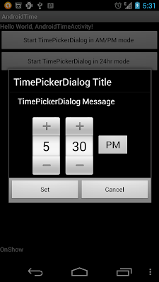 TimePickerDialog