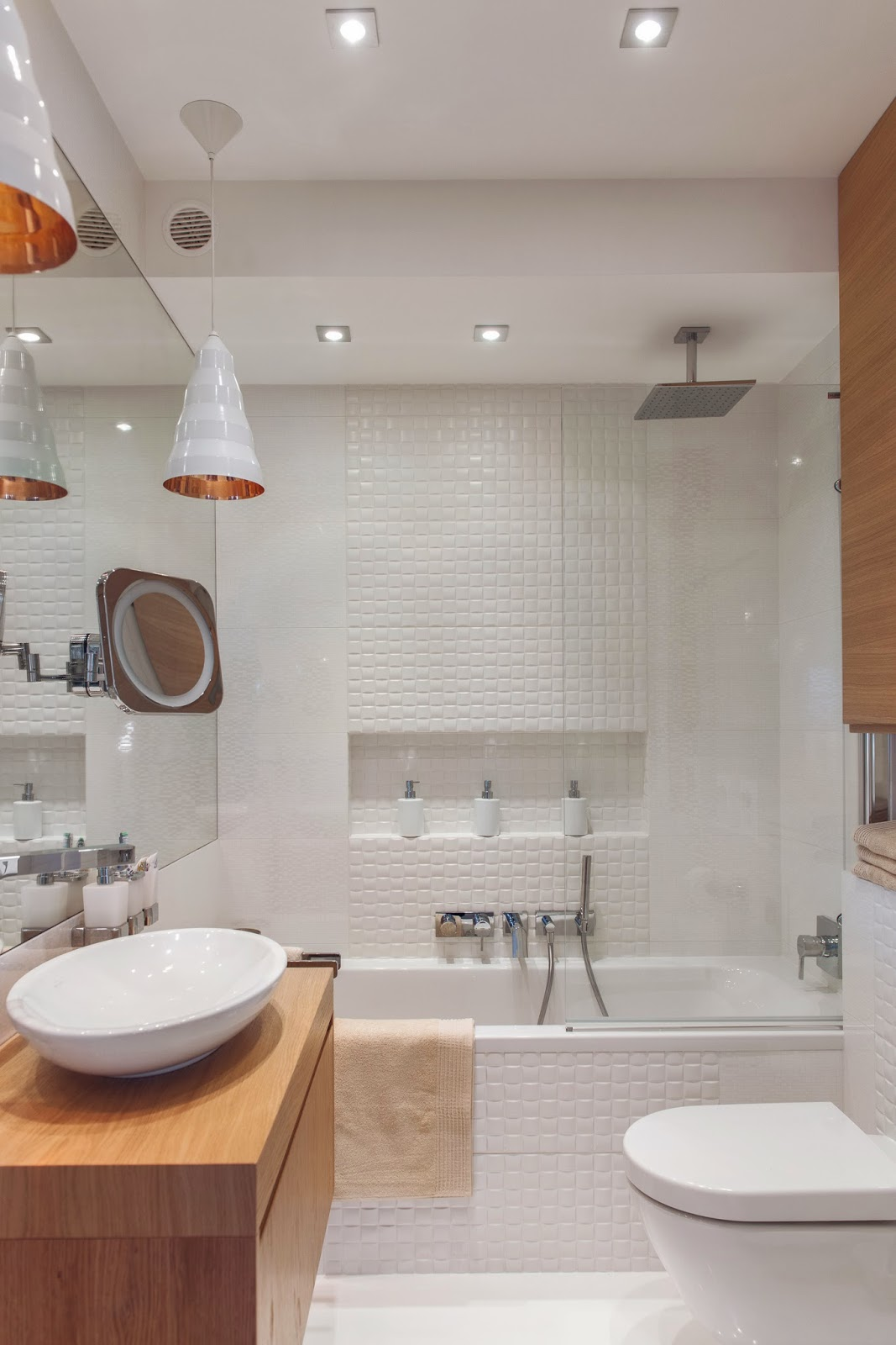 Blog Achados de Decoração : APARTAMENTO CLEAN DECORAÇÃO  #995E32 1067x1600 Banheiro Apartamento Decoração