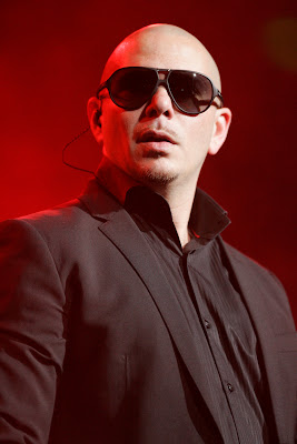 Pitbull On Stage