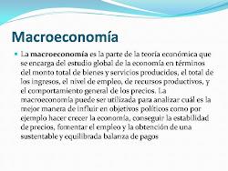 Definición de Macroeconomía