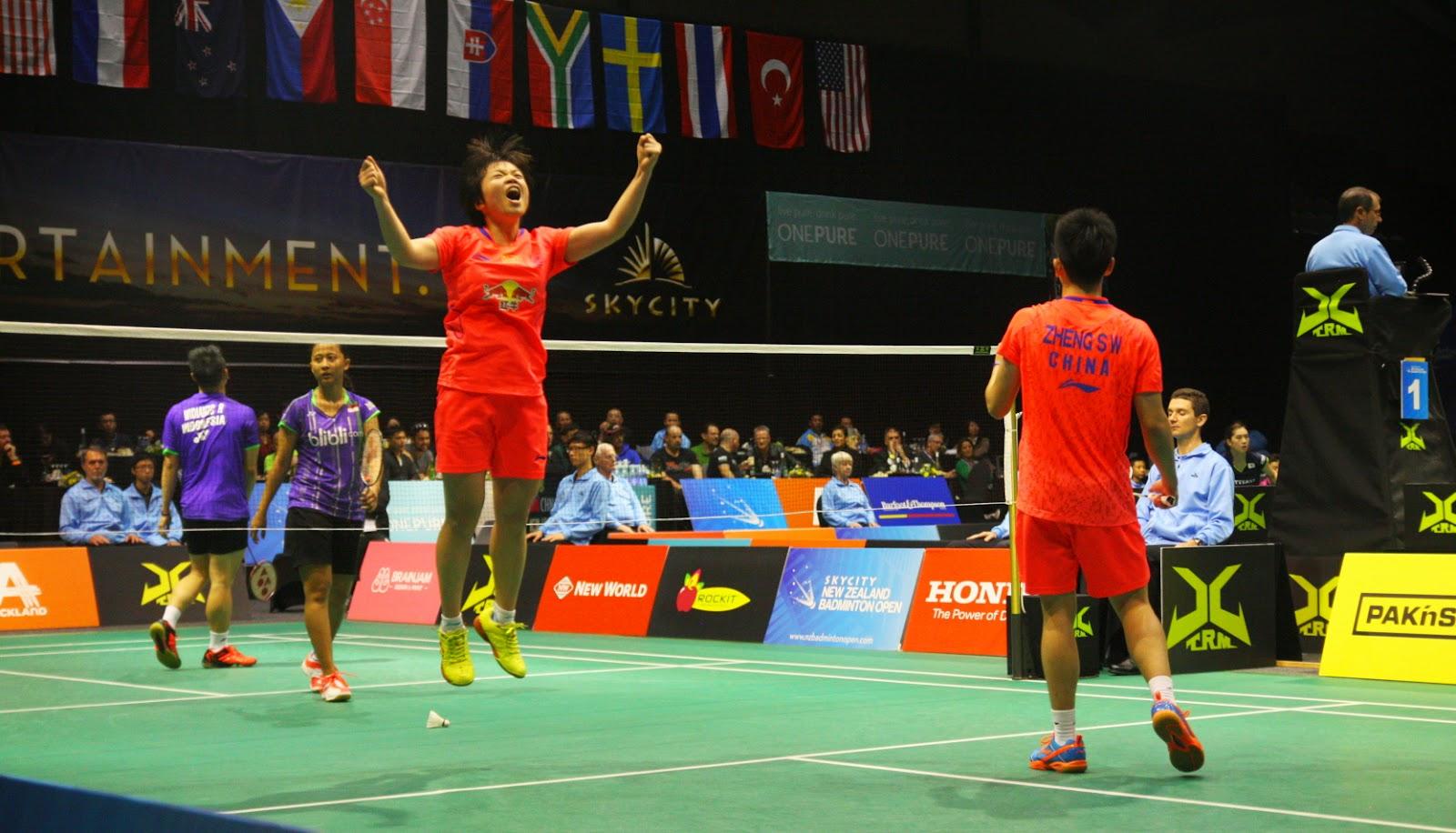 Zheng Si Wei Chen Qingchen Juara New Zealand Open 2015