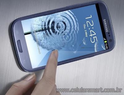 Samsung Galaxy S3 Tela