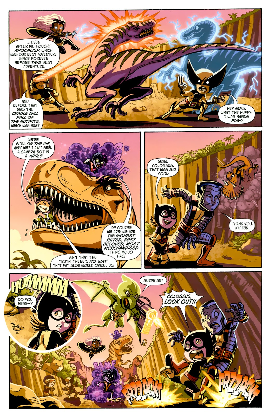 Read online X-Babies comic -  Issue #1 - 7