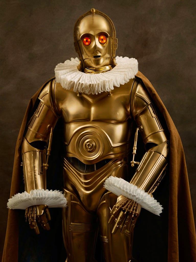 02-C-3PO-Sacha-Goldberger-Superheroes-in-the-1600s-www-designstack-co