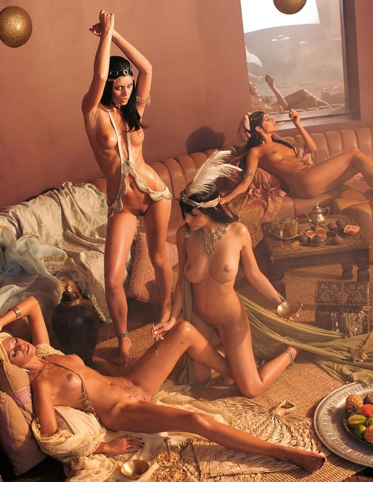 Women sex slaves in orgy like see