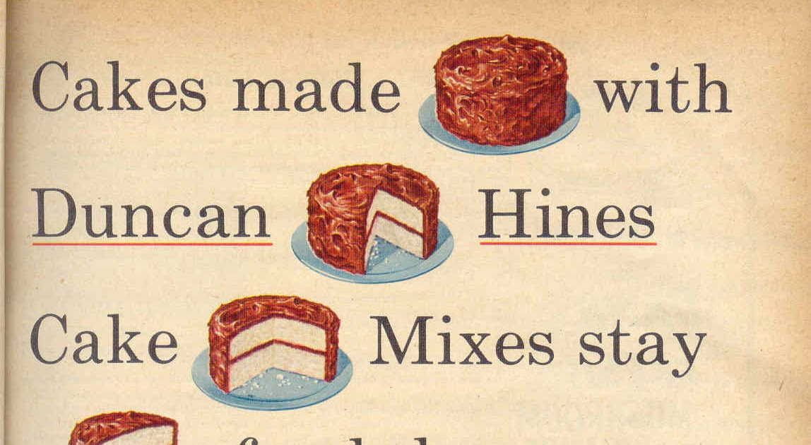 Gold country girls then and now 83 duncan hines cake mixes
