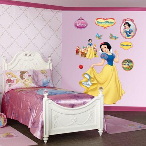 10 dormitorios estilo princesas disney ideas para for Paginas para disenar habitaciones