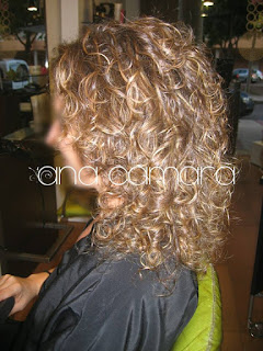 highlights in curly hair 2015