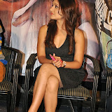 Prabhjeeth Kaur Hot Photo Gallery in Short Dress at Intelligent Idiot Movie Logo Launch 35
