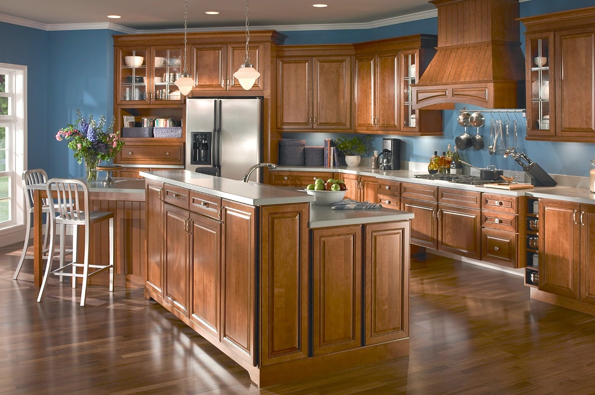 Beautiful Kraftmaid Kitchen Cabinets