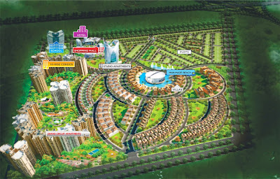 Up Country, Yamuna Expressway :: Site Plan
