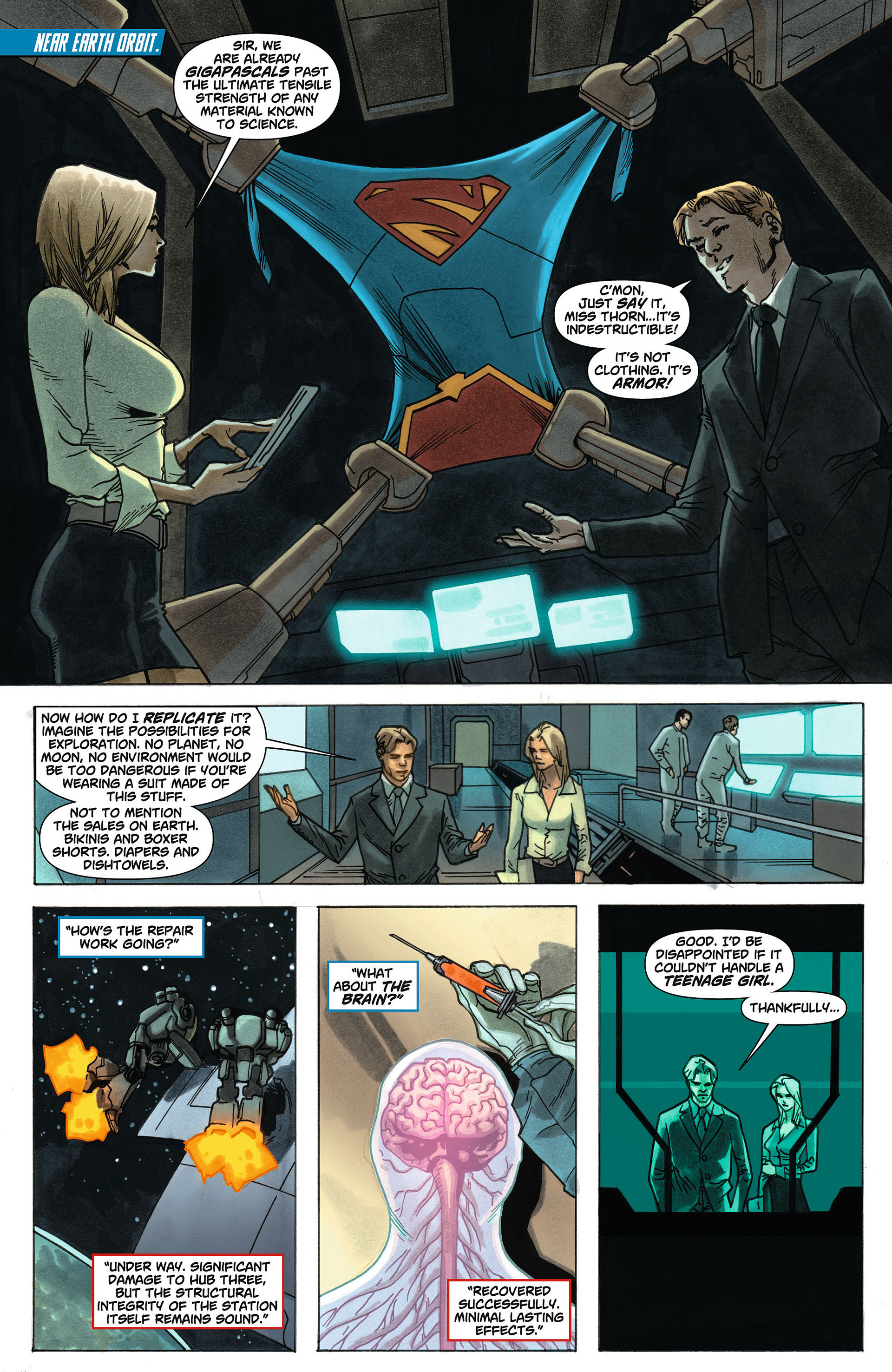 Supergirl (2011) Issue #4 #6 - English 2