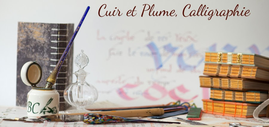 Cuir et Plume, Calligraphies