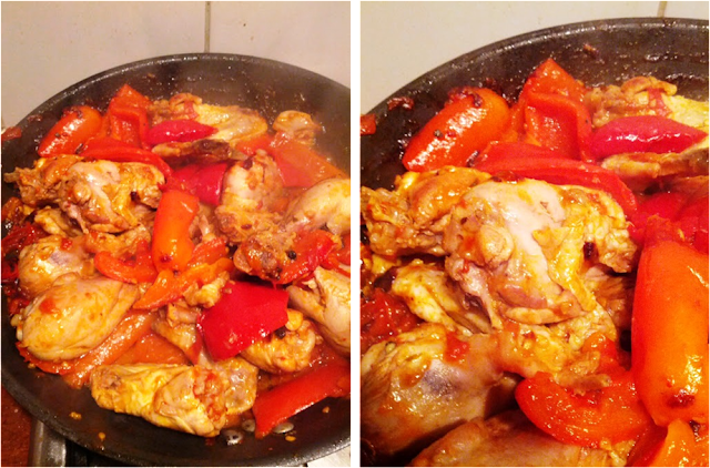 Italian chicken recipes, pollo alla romana, pollo ai peperoni, easy chicken recipes, italian chicken dish, how to cook chicken, chicken recipes, chicken with red peppers