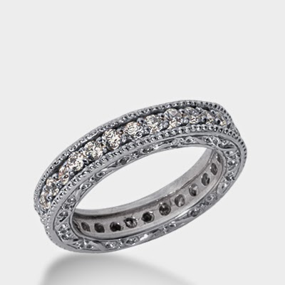 Eternity Band Diamond Ring